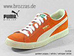 PUMA Sneakers Clyde orange