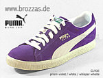 PUMA Sneakers Clyde violett